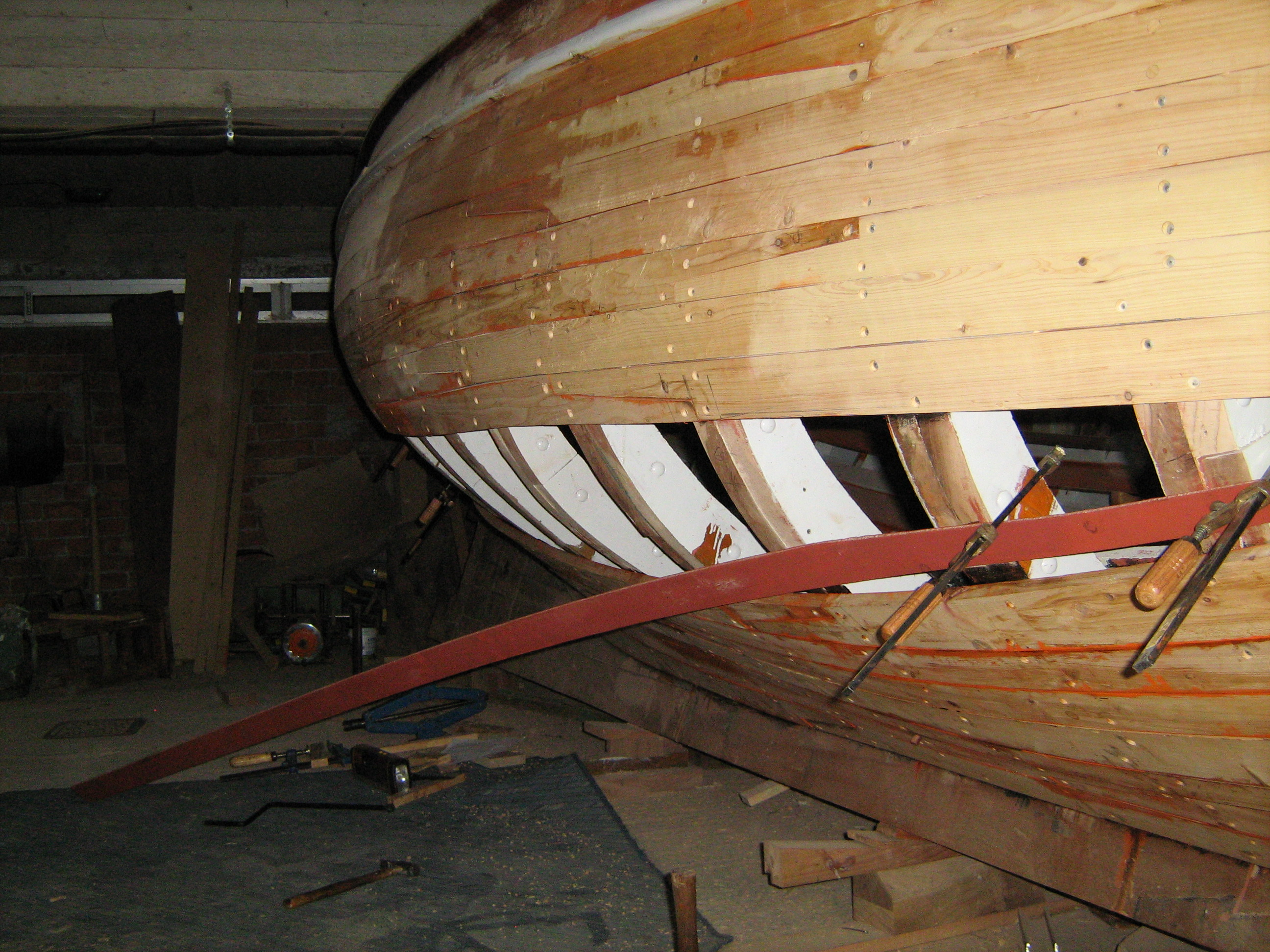 A Grecian Wooden Boat